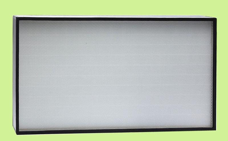 高效空气过滤器,对0.1微米和0.3微米的有效率达到99.998%