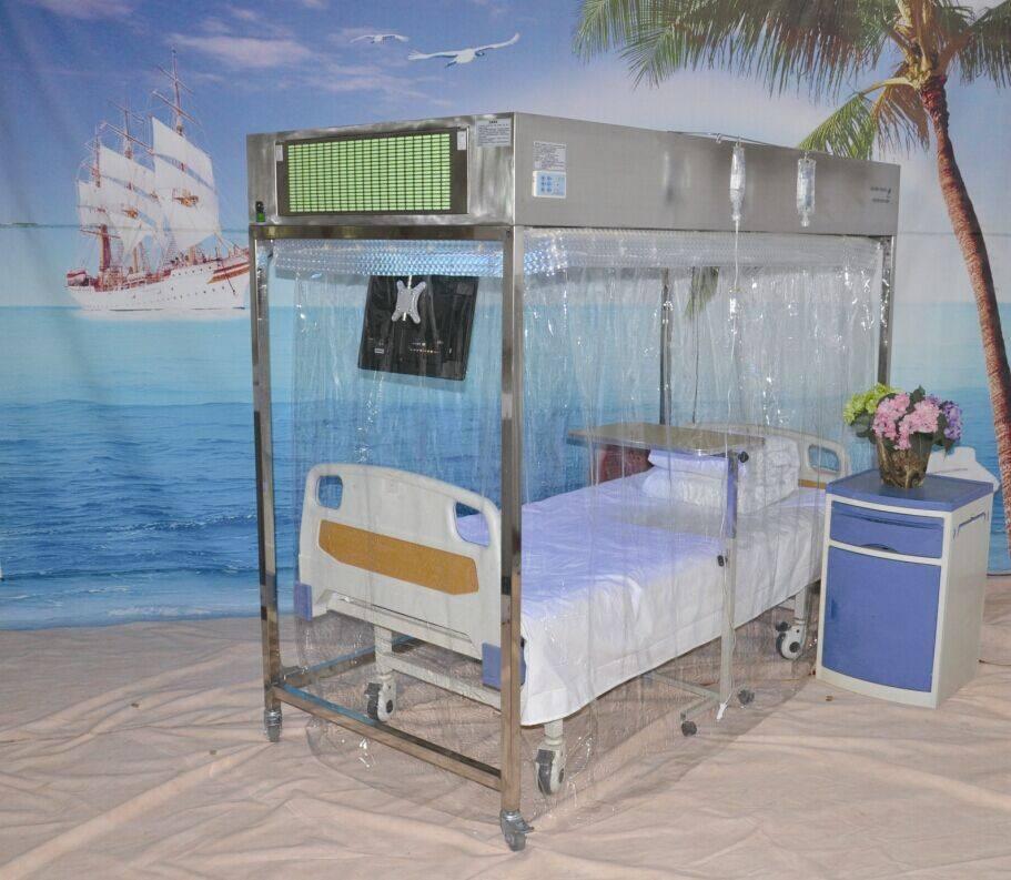 层流床罩使用与维护方法